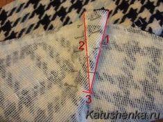 Как делать вытачки на толстых тканях