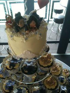Wedding cupcake tower  Cake by Scrumptiousjo