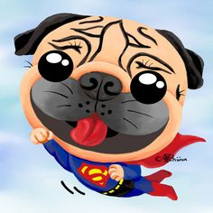 Joy's Pug World — Super Pug