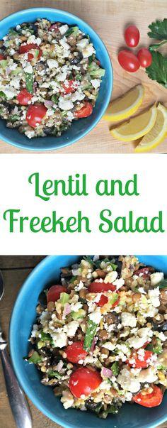 freekeh.lentil.salad