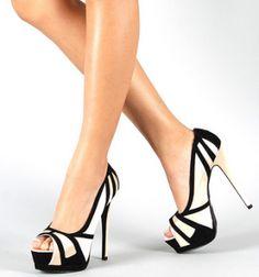 """CHIQ   Champagne Qupid Tatum 10 Satin Platform Peep toe 5"""" Heels Pumps Shoes"""