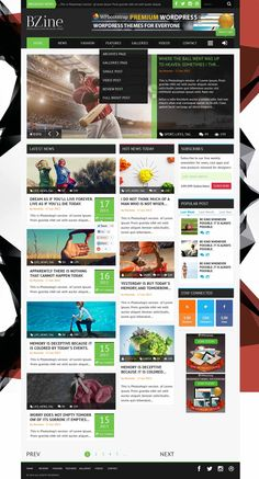 Bzine is a Premium Responsive Magazine Theme, powerful theme built on the latest Bootstrap 3.0 framework. It comes with lots of options, so you can change the layout style, colors, and fonts. Lots of elements, shortcodes, widget areas. Bzine very intuitive and completely ready to use out of the box