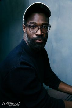 Nasty Baby's Tunde Adebimpe photographed at The Hollywood Reporter photobooth at the 2015 #Sundance Film Festival in Park City, Utah on Jan. 23, 2015.