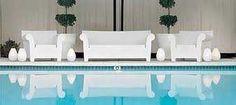 Divano e poltrona Bubble Club - Philippe Starck