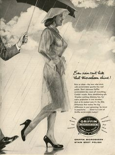 Microsheen Shoe Polish Ads