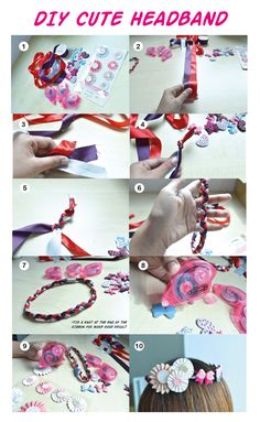 Ribbon hair accessories are a huge trend right now, and this DIY Ribbon Headband are just the thing you need to make you look glam and fabulous!