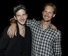 Gustaf Alexander Skarsgard, Floki/Vikings Eric/True Blood, two of my favorite shows!!! Yessss...the Skarsgard bros! Floki Eric!