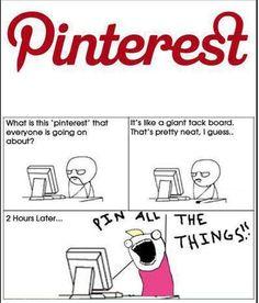 The power of Pinterest !