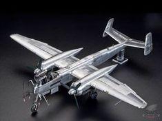 """Full metal Uhu"" Zoukei-mura 1/32 Heinkel He 219 finished in natural metal - SWS | Zoukei-mura Inc."