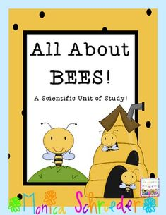 My All About Bees packet is a nonfiction unit of study that will take your students through the life cycle of a honey bee.  Included you will fine: Nonfiction and Fictional recommended text Links to great sites to supplement the lesson including a video of bees hatching in my classroom.  $7.99