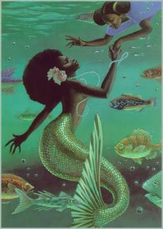 MARY BELLE AND THE MERMAID BY LEO AND DIANE DILLON