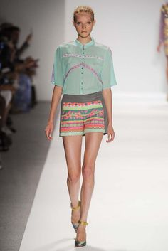 Custo - New York Fashion Week Primavera 2014