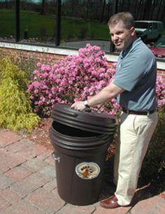 bearicuda basic 30 gallon screwtop airtight trash can