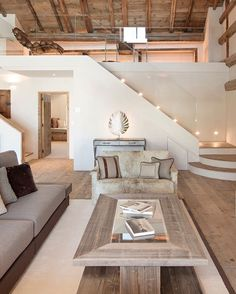 Rustic Living Room - A cozy rustic decor for the living room - - rustikal Rustic Living Room – A cozy rustic decor for the living room Home Interior Design, Interior Architecture, Room Interior, Luxury Interior, Architecture Today, Apartment Interior, Apartment Design, Amazing Architecture, Exterior Design