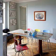 Roseland Greene: Paris, from Côté Maison