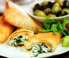 Greek Spanakopita Recipe - http://www.allbakingrecipes.com/recipes/greek-spanakopita-recipe/