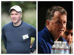 Investors Ben Horowitz of Andreessen Horowitz (l) and Paul Graham of Y Combinator (r)
