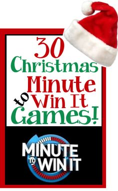 Christmas / Holiday theme Minute to Win It Games