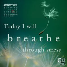 A great way to deal with stress! Take a moment and breathe! #caregiver