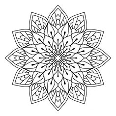 Mandala tattoo, coloring Mandala Mandala Mandala coloring pages, Mandala painting, mandala drawing - Today for your coloring here are coloring mandala art therapy to print free Obte - Mandala Design, Mandala Floral, Mandala Pattern, Zentangle Patterns, Free Adult Coloring Pages, Pattern Coloring Pages, Mandala Coloring Pages, Mandalas Painting, Mandalas Drawing