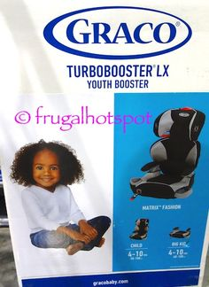 Graco TurboBooster LX Youth Booster Seat Costco FrugalHotspot