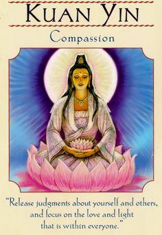 Kuan Yin doreen virtue goddess cards