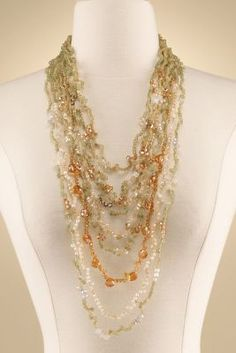 Shades of the Sea Necklace from Soft Surroundings
