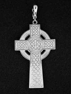 Keltisches Kreuz mit keltischen Knoten in 925 Silber  www.schmuckcity24.de
