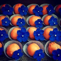 Dutch themed Anniversary Cake Bites