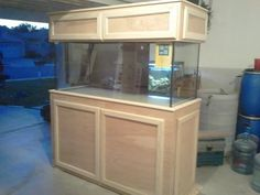 diy fish tank stand | ... finishing Birch fish tank stand - Woodworking Talk - Woodworkers Forum