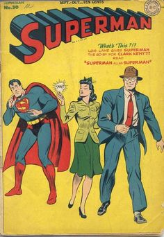 Superman #30 (1944) First Appearance of Mr. Mxyzptlk Highest price to date: $5000 unrestored. Cheapest price (complete, unrestored copy): $260