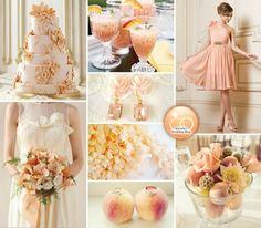 {Monday Moods at DIY Weddings} Sweet Georgia Peach · DIY Weddings | CraftGossip.com