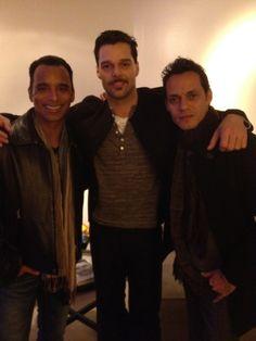 Jon decades , Ricky Martin, & Marc Anthony