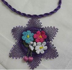 Textiles, Diy And Crafts, Crochet Necklace, Jewelry, Decor, Necklaces, Herb, Young Women, Textile Jewelry