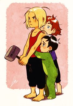 What was that noise? by *Lelia(Thor, Loki, & Balder) This is adorable.
