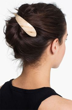 Ficcare 'Maximas Small' Hair Clip available at #Nordstrom small in pearl