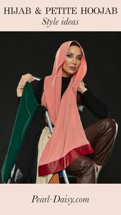 Hijab style ideas using the Hijab and Petite Hoojab products from Modest Outfits, Modest Fashion, Hijab Fashion, Muslim Girls, Muslim Women, Simple Hijab, Style Inspiration, Style Ideas, Simple Style