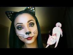 599e98161 37 mejores imágenes de Disfraz Gato   Cat makeup, Gatos y Kitty cat ...