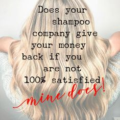 You will not want to return these but just in case we got you covered! Clean Life, Hair Issues, Monat Hair, Love Your Hair, Natural Haircare, Good Hair Day, Best Anti Aging, Arbonne, Just In Case