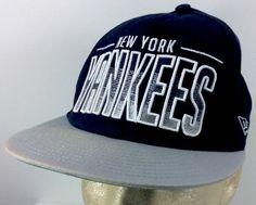 One of the most beloved teams in baseball. New York Yankees Baseball Cap Hat Black New Era Cap Snapback Athletic 9Fifty #NewEra #BaseballCap