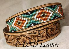 I can make the belt that conveys the message of your choice. Be it a belt for a very special occasion or one that works hard everyday. Beaded Belts, Beaded Hat Bands, Beaded Bracelets, Custom Belts, Custom Leather Belts, Leather Tooling Patterns, Leather Pattern, Western Belt Buckles, Western Belts