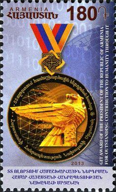 D2840 Stamps Armenia 1919 Sc 62a Mint Pair