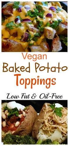 Vegan Baked Potato Toppings Eatplant Based Com - There Are So Many Healthy Topping Options For Baked Potatoes Taco Potato Toppings Taco Potato Is A Great Way To Spice It Up A Bit Delicious Healthy Baked Potatoes Stuffed And Seasoned With Your Fa Healthy Baked Potatoes, Vegan Baked Potato, Crock Pot Baked Potatoes, Baked Potato Toppings, Best Baked Potato, Perfect Baked Potato, Baked Potato Recipes, Vegan Recipes With Potatoes, Potato Diet
