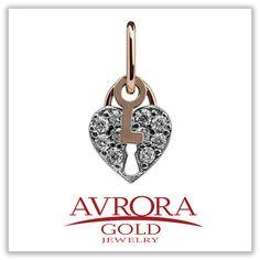 Тот самый ключик к Вашему сердцу ...  AVRORA GOLD знает в этом толк! ❤  #AvroraGold #Jewelry #girls #подвеска #кулон #love