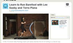 VIDEO about barefoot running (proper alignment etc) Very helpful.   http://vimeo.com/12451532