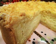 Tarta de ricota de panadería New Recipes, Sweet Recipes, Argentine Recipes, Ricotta Cake, Soft Pretzels, Dessert Recipes, Desserts, Cornbread, Catering