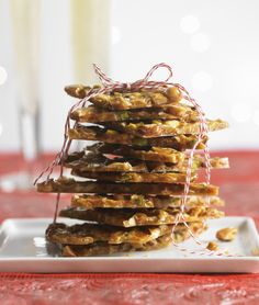 Wolfgang Puck is putting a sweet spin on your holiday treats with his Nut & Coconut Brittle, only on mBLOG