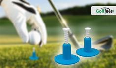 The Groove Range Tee is an adjustable height tee for use with range mats.