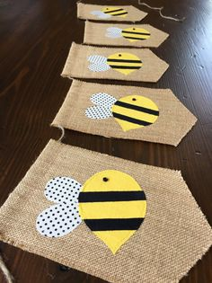 Hey, I found this really awesome Etsy listing at https://www.etsy.com/listing/236869913/bumblebee-birthday-bunting