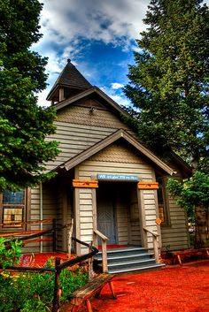 The Little Church at the Flying W Ranch